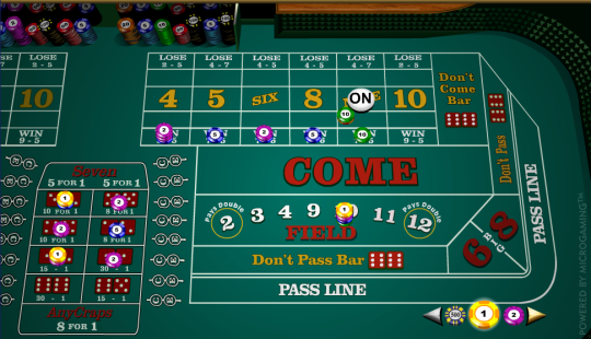 best online craps casino ra play