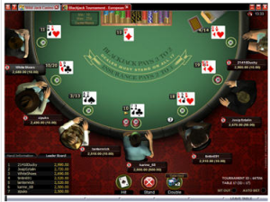 Play Blackjack Tournaments Online